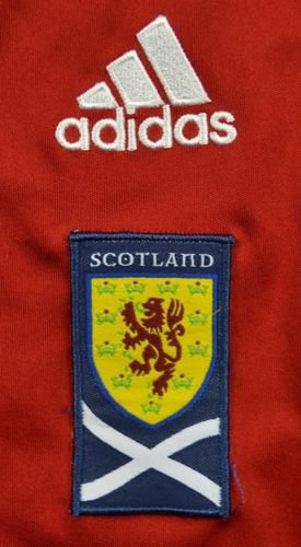 2010-11 SCOTLAND SHIRT GK SIZE 7/8 YEARS