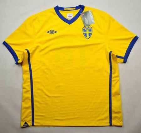 2010-11 SWEDEN SHIRT XL