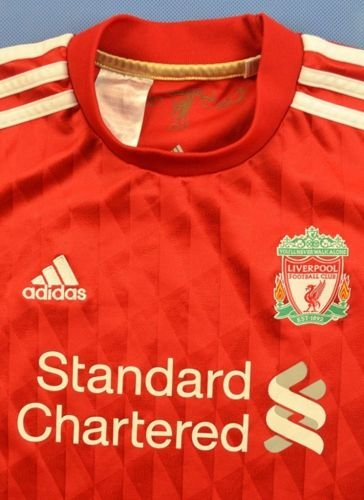 2010-12 LIVERPOOL SHIRT L. BOYS
