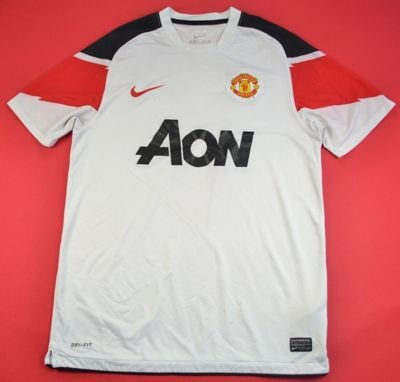 2010-12 MANCHESTER UNITED SHIRT M