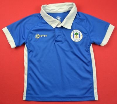 2011-12  WIGAN ATHLETIC SHIRT SIZE 2/3 YEARS