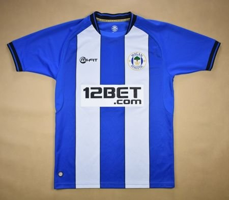 2012-13 WIGAN ATHLETIC SHIRT S