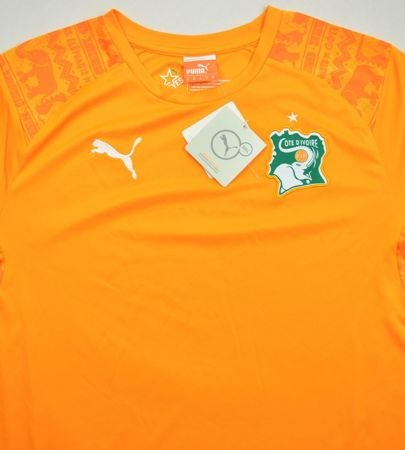 2014-15 IVORY COST SHIRT M