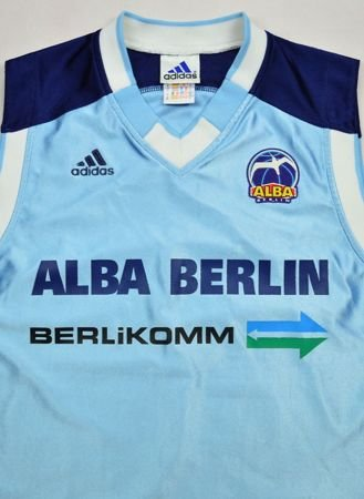 ALBA BERLIN BASKETBALL ADIDAS SHIRT M