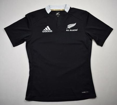 ALL BLACK NEW ZEALAND RUGBY ADIDAS SHIRT S