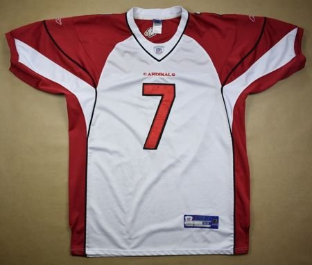 ARIZONA CARDINALS NFL *LEINART* REEBOK SHIRT XL