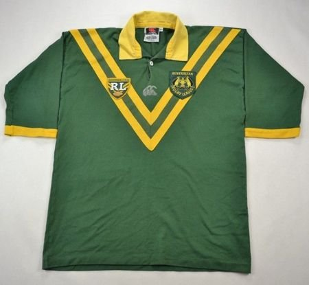 AUSTRALIAN RUGBY LEAGUE CANTERBURY SHIRT XL