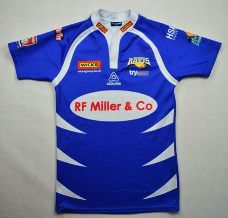 BARROW RAIDERS RUGBY AZZURRI SHIRT L