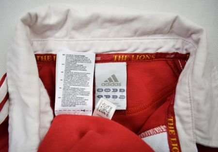 BRITISH AND IRISH LIONS ADIDAS SHIRT S