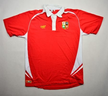 BRITISH AND IRISH LIONS RUGBY COTTON TRADERS XL