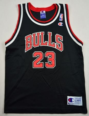 CHICAGO BULLS *JORDAN* NBA CHAMPION L. BOYS 14-16 YRS
