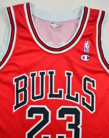 CHICAGO BULLS *JORDAN* NBA CHAMPION SHIRT L