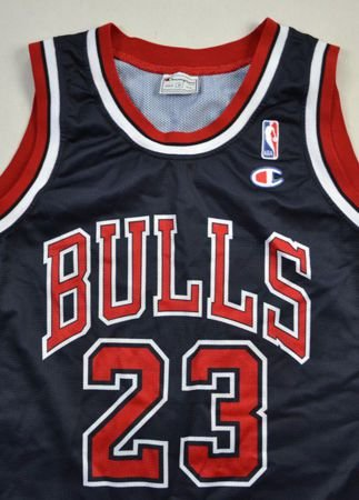 CHICAGO BULLS NBA *JORDAN* CHAMPION SHIRT M