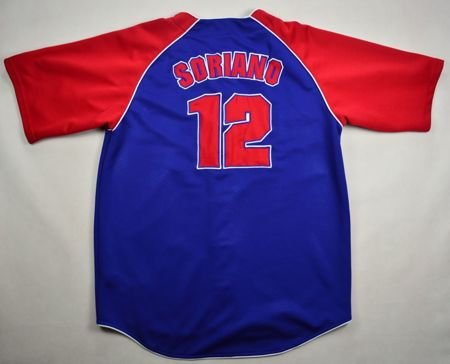 CHICAGO CUBS *SORIANO*  BASEBALL TRUE FAN SHIRT XL
