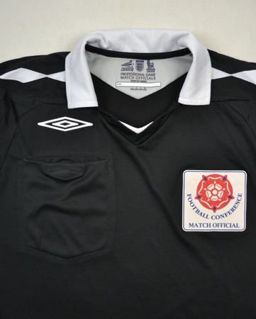 FOOTBALL CONFERENCE REFEREE SHIRT L