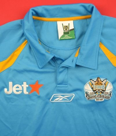 GOLD COAST GIANTS RUGBY REEBOK SHIRT XXL