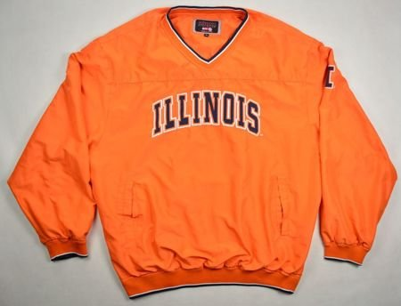 ILLINOIS FIGHTING BASEBALL COLOSSEUM JACKET XL