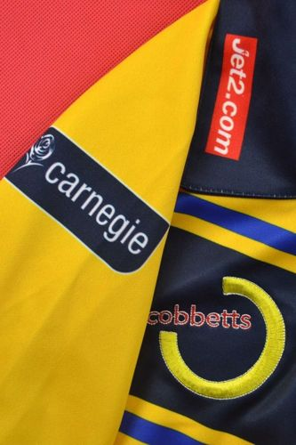 LEEDS RHINOS ISC COBBETTS RUGBY SHIRT JERSEY S