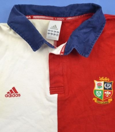 LIONS SOUTH AFRICA RUGBY ADIDAS SHIRT XL