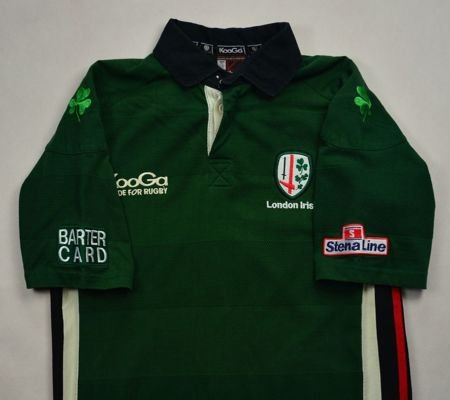 LONDON IRISH RUGBY KOOGA SHIRT M