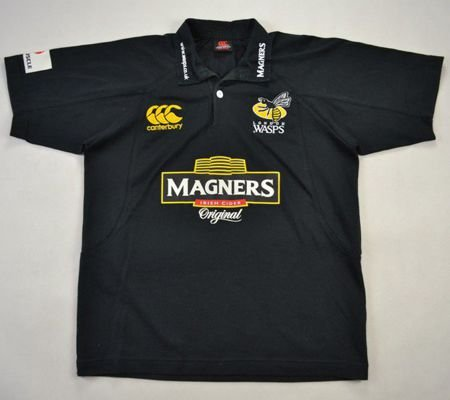 LONDON WASPS RUGBY CANTERBURY SHIRT SIZE 12 YEARS