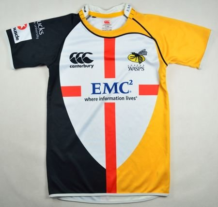 LONDON WASPS RUGBY CANTERBURY  SIZE 14 YEARS