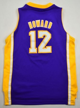 LOS ANGELES LAKERS *HOWARD* NBA ADIDAS SHIRT L
