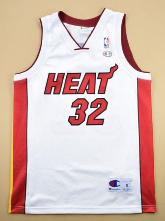 MIAMI HEAT *O'NEAL* NBA CHAMPION SHIRT S