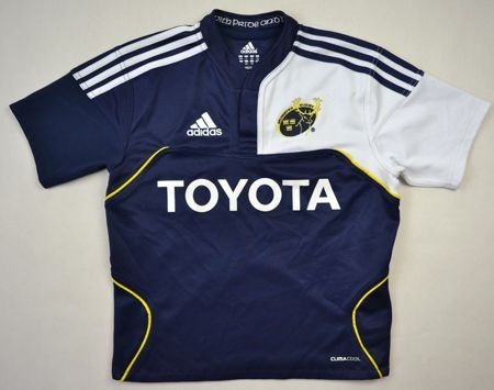 MUNSTER RUGBY ADIDAS SHIRT S. BOYS 140 CM