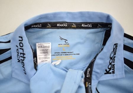 NEWCASTLE FALCONS RUGBY KOOGA SHIRT L