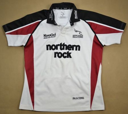 NEWCASTLE FALCONS RUGBY KOOGA SHIRT M