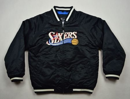 PHILADELPHIA 76ERS NBA CHAMPION JACKET 9/10 YRS