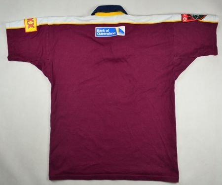 QUEENSLAND RUGBY CANTERBURY SHIRT L