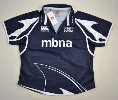 SALE SHARKS RUGBY CANTERBURY WOMAN SHIRT SIZE 18