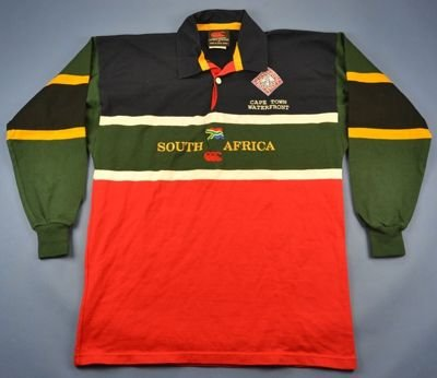 SOUTH AFRICA CAPE TOWN WATERFRONT RUGBY CANTERBURY  SHIRT M