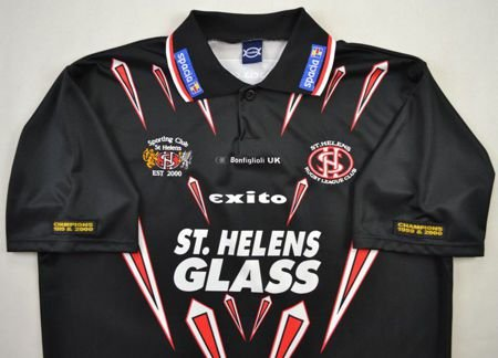 ST. HELENS RUGBY EXITO SHIRT XL