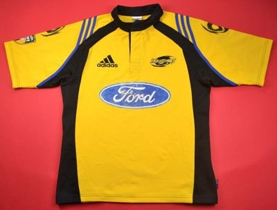 WELLINGTON HURRICANES RUGBY ADIDAS SHIRT M