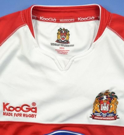 WIGAN WARRIORS KOOGA SHIRT M