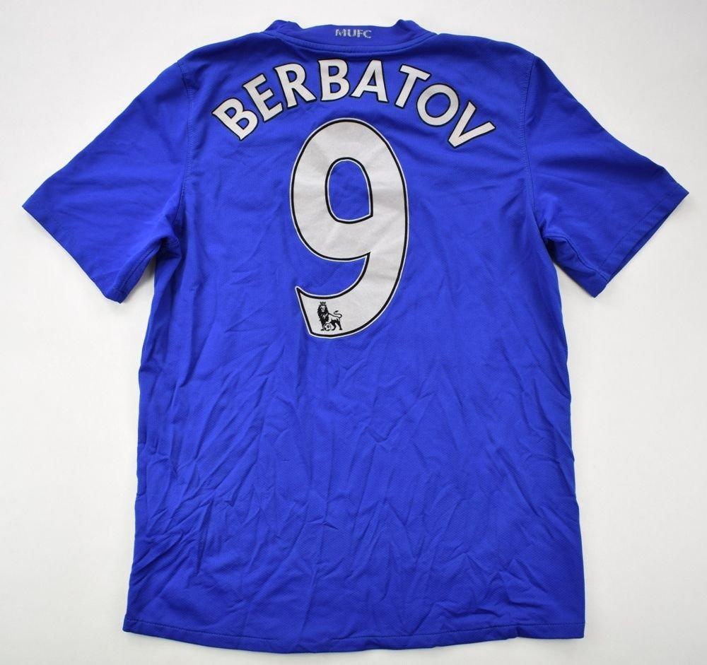 2dcb2a9bd 2008-09 MANCHESTER UNITED  BERBATOV  SHIRT XL. BOYS Football   Soccer    Premier League   Manchester United