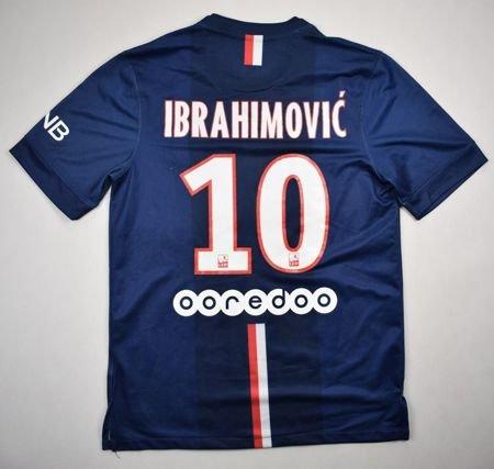 2014-15 PARIS SAINT-GERMAIN  IBRAHIMOVIC  SHIRT S Football   Soccer ... 9047ab021