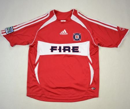 save off bbe47 c2dbd 2007 CHICAGO FIRE SHIRT M. BOYS