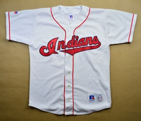 cb78984d2 CLEVELAND INDIANS MLB RUSSELL ATHLETIC SHIRT M Other Shirts   Baseball