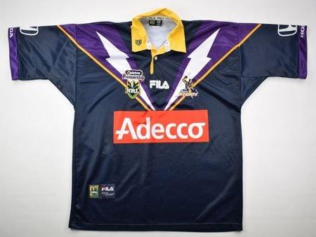 0ec0605fe6a MELBOURNE STORM NRL FILA SHIRT L Rugby \ Rugby League \ Melbourne Storm    Classic-Shirts.com