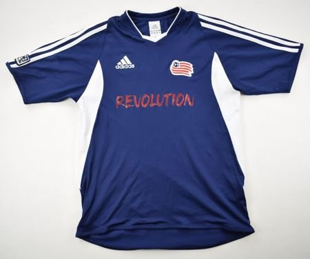 54aec508ae6 2005 NEW ENGLAND REVOLUTION SHIRT L. BOYS Football   Soccer   Rest of world