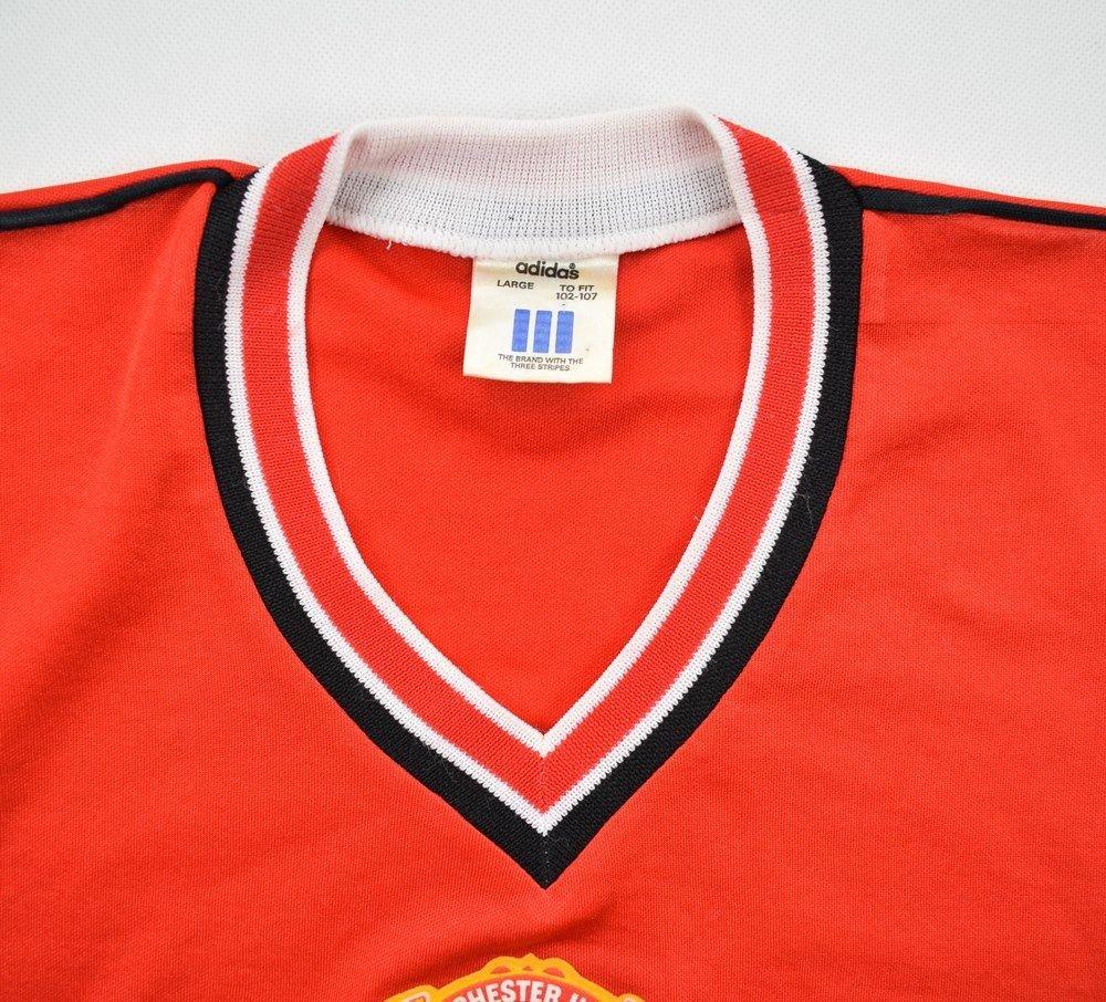 8c7b2e10dbc 1984-86 MANCHESTER UNITED SHIRT S Football   Soccer   Premier League ...