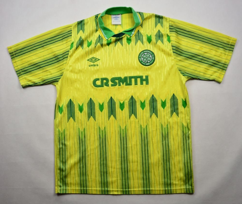 12e6fcedd 1989-91 CELTIC GLASGOW SHIRT 38 40 Football   Soccer   Other UK Clubs    Scottish Clubs   Celtic Glasgow