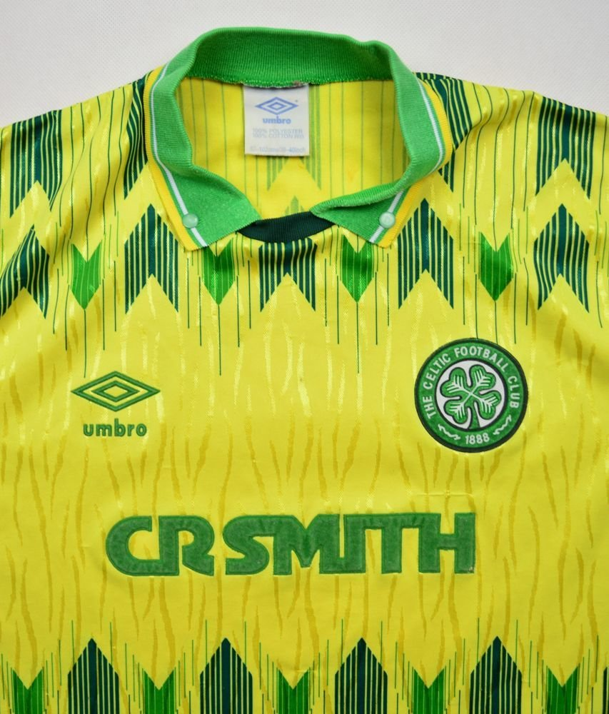 fdf22d263 1989-91 CELTIC GLASGOW SHIRT 38 40 Football   Soccer   Other UK ...