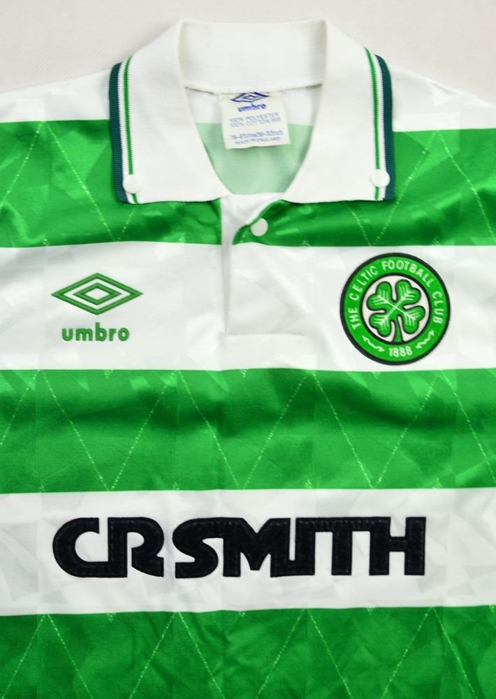 89cd8d3d2 1989-91 CELTIC GLASGOW SHIRT M. BOYS Football   Soccer   Other UK ...