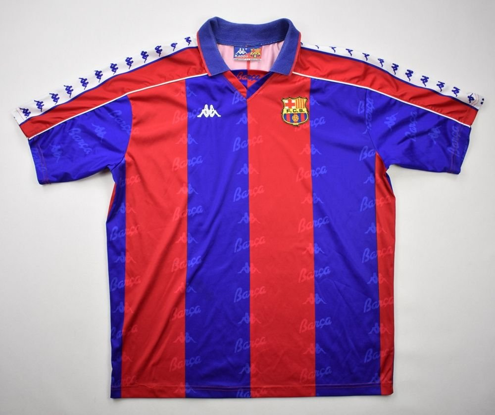 16dd73f65 1992-1995 FC BARCELONA SHIRT XL Football   Soccer   European Clubs   Spanish  Clubs   FC Barcelona