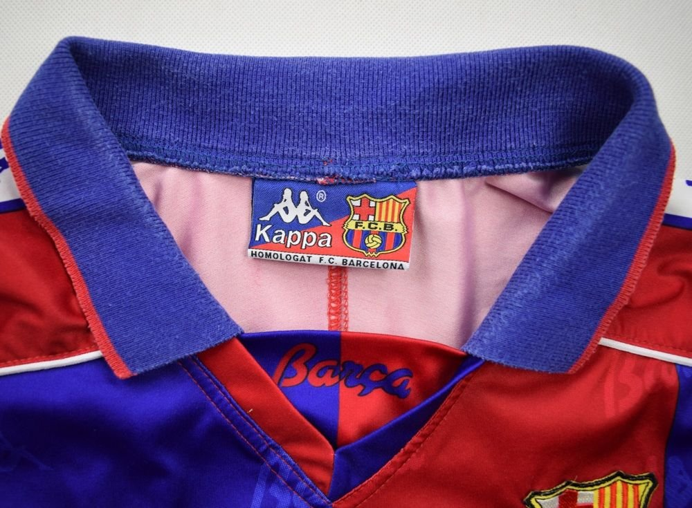 ea73f923f 1992-1995 FC BARCELONA SHIRT XL Football   Soccer   European Clubs ...